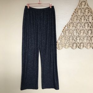 Joah Brown Relaxed High Rise Pants, Size M/L